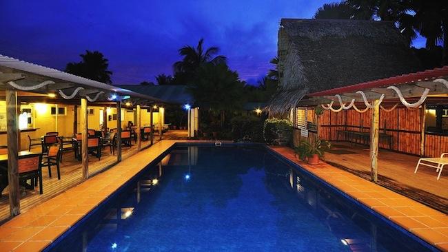 ห้องพักของรีสอร์ท Kosrae Nautilus Resort ทุกอย่างอยู่ในสภาพดีเยี่ยม : ภาพจากทีวี Nine Network