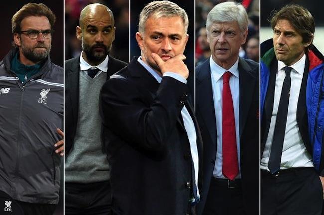 สุดยอดของผู้จัดการทีมของโลกมารวมกันที่พรีเมียร์ลีกอังกฤษฤดูการ 2016-17 : ภาพจาก mirror.co.uk
