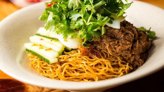 Duck egg-noodles : ภาพจาก goodfood.com.au