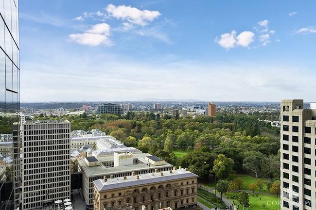 อพาร์ทเมนท์ที่ถนน Little Collins St. นครเมลเบิร์น   : ภาพจาก domainstatic.com.au