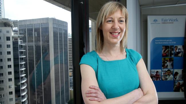 นาง Natalie James เจ้าพนักงาน FWO : ภาพชั่วคราวจากนสพ. The Herald Sun