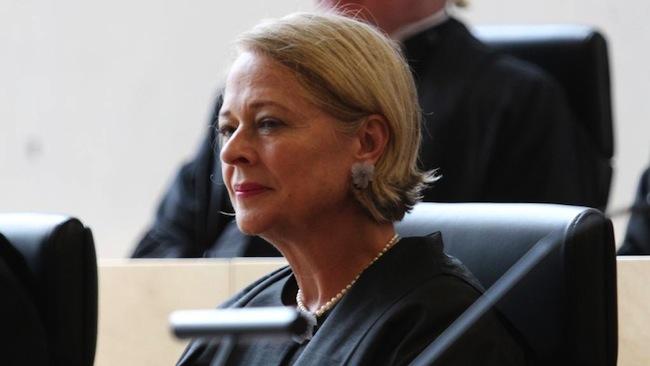 ภาพ ผู้พิพากษาหญิง Margaret McMurdo แห่งศาลอุทธรณ์คดีอาญารัฐควีนสแลนด์