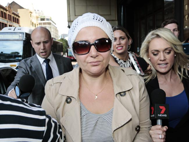 นาง Amirah Droudis ผู้สังหารอดีตภรรยาของสามีอย่างเหี้ยมโหด : ภาพจากสำนักข่าว AAP