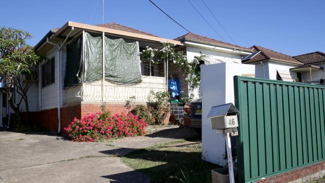 บ้านที่นาย Rashadul Islam เช่าห้องอยู่อาศัยที่ย่าน Blacktown : ภาพชั่วคราวจากนสพ. The Australian