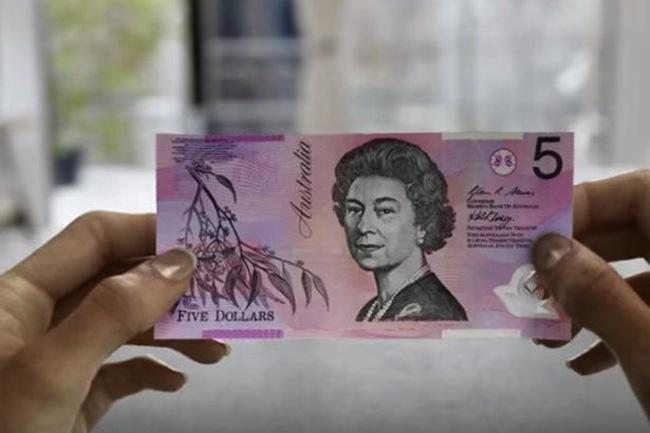 ธนบัตรชนิดราคา 5 เหรียญ : ภาพประชาสัมพันธ์จากธนาคารกลางแห่งออสเตรเลีย