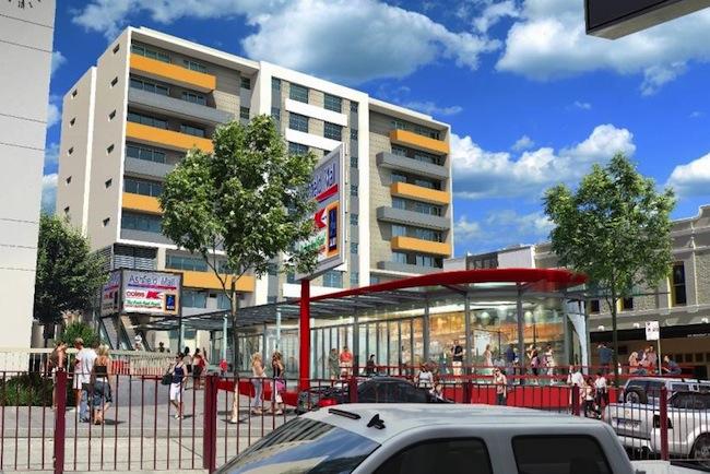 ศูนย์การค้า Ashfield Mall : ภาพจาก Abacus Property Group
