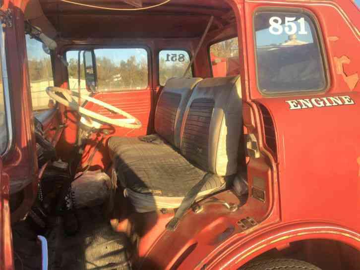 Ford C Series 1968 Emergency Amp Fire Trucks