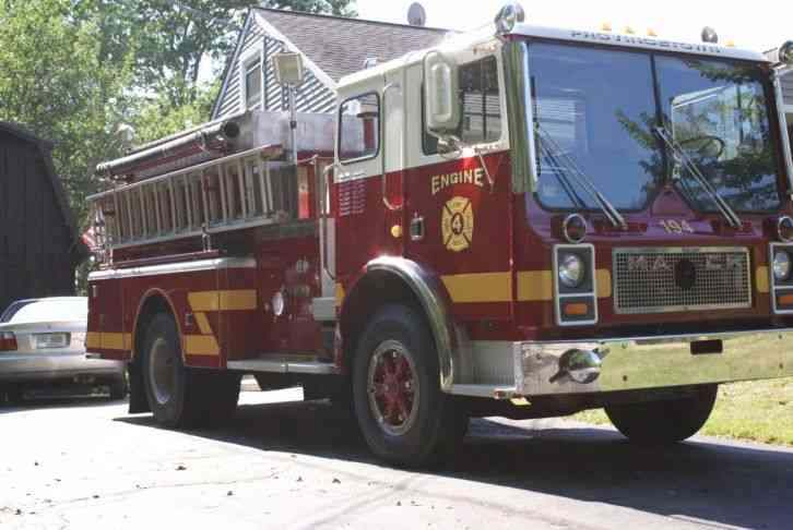 Mack Mc487 1980 Emergency Amp Fire Trucks