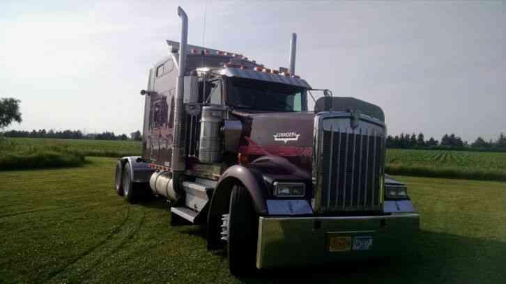 Kenworth W900l 1999 Sleeper Semi Trucks
