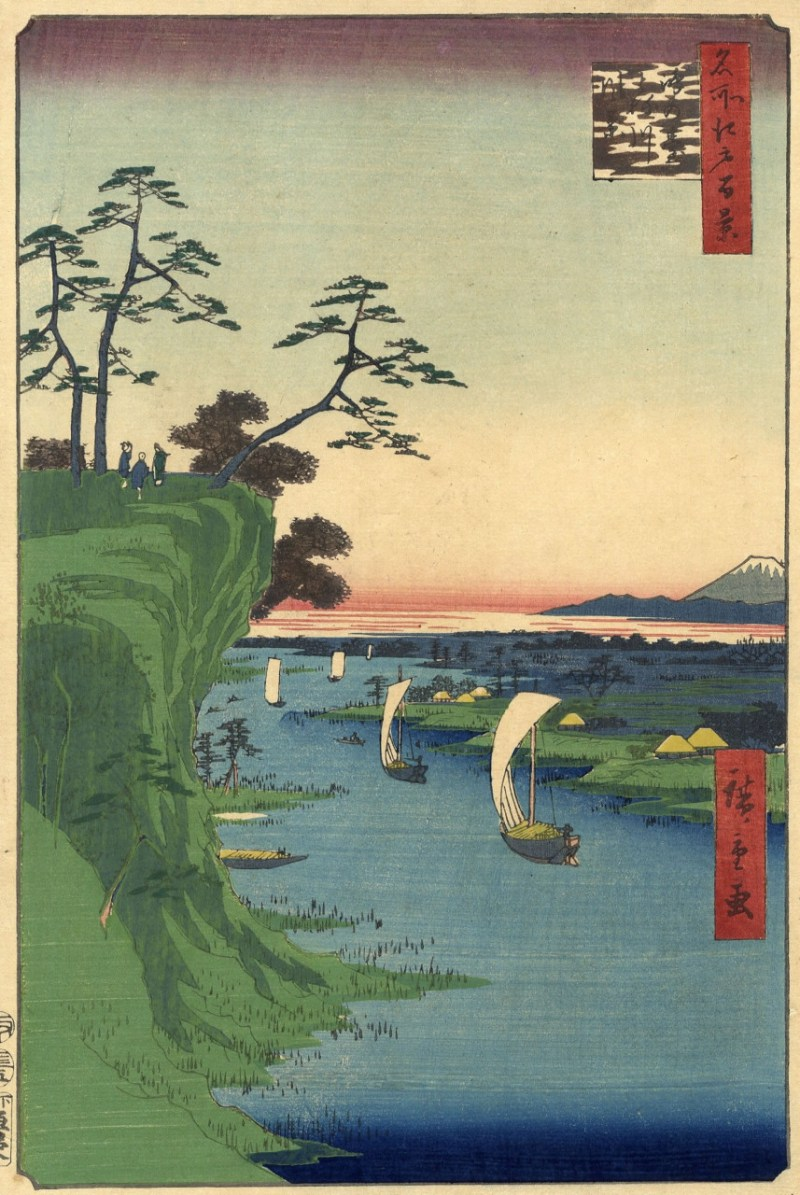 鴻の台利根川風景