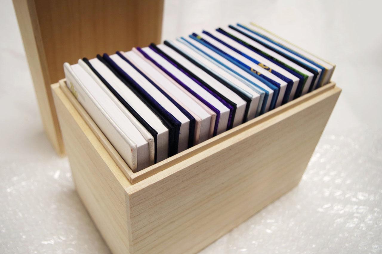 B式サック段ボールケース【写真集やアルバム用に便利な形状の