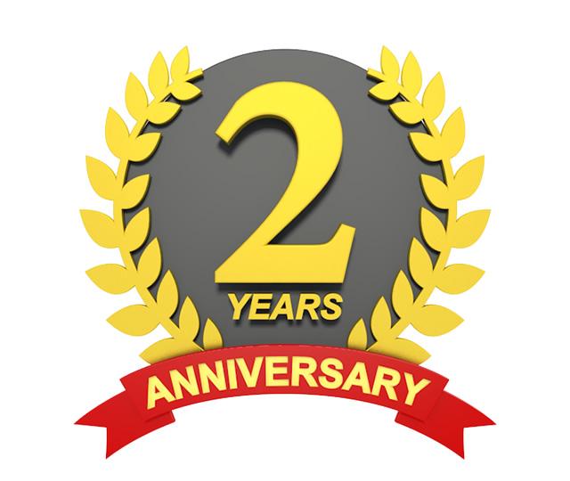 本日ブログ2周年記念日です!PPCと同じく遂に3年目突入~!