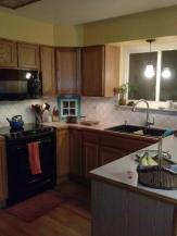 new kitchen stove and sink