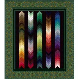 Braided Palette Charm - Teal Rajastahn