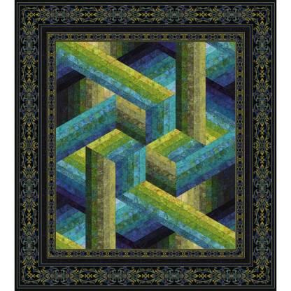 Catwalk Quilt - Wall/Pistachio