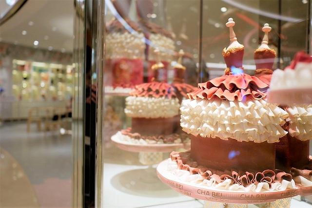 CHABEIのケーキ