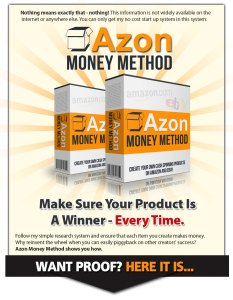 The no-money-down Amazon money method.