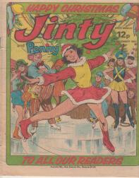 Jinty Christmas cover