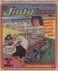 Jinty and Lindy 3 July 1976