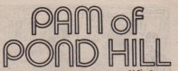 Later version of Pam of Pond Hill logo, in Tammy 1982.