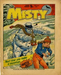 Misty cover 1979