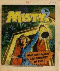 Misty cover Doorway to Evil
