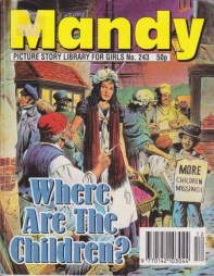 """Where are the Children?"", Mandy picture story library #243. Art by Mario Capaldi."