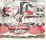 """Happy ending for """"Cindy of Swan Lake"""", Tammy 9 February 1975."""