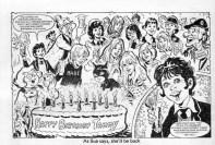 Wee Sue celebrates Tammy's 10th birthday 7 February 1981