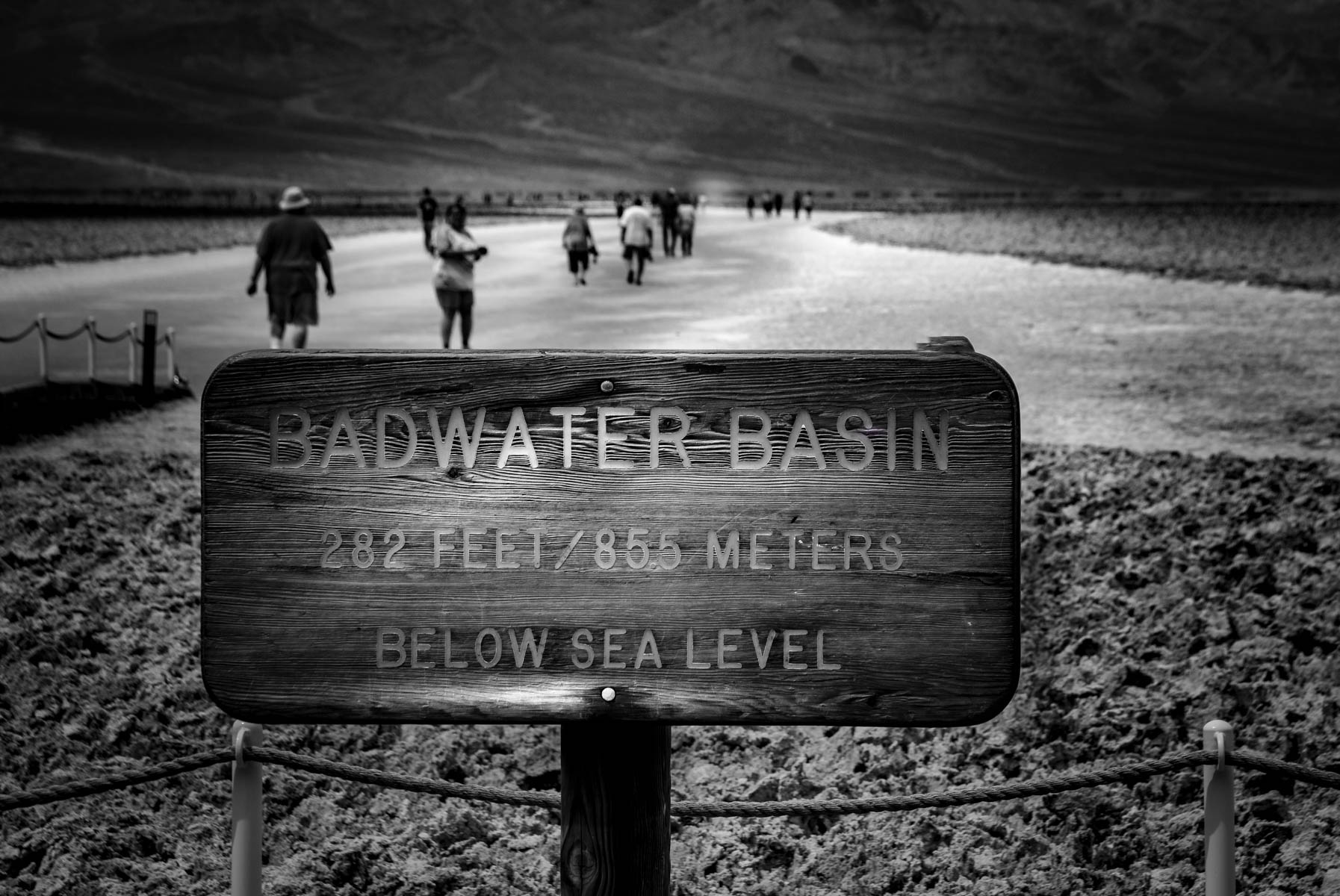 Badwater Basin ~ Death Valley by Jim Berger