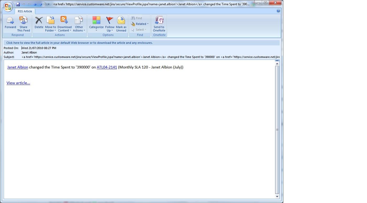 email subject formatting email subject formatting https jira