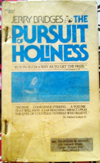 The Pursuit Of Holiness by Jerry Bridges