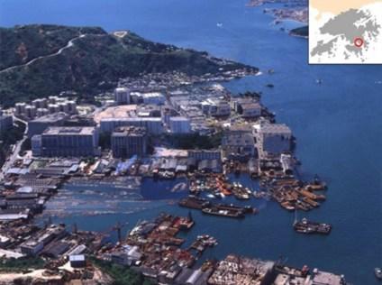 Yau Tong Bay during 90's