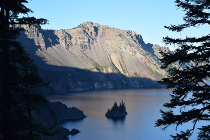 Crater Lake and its ship