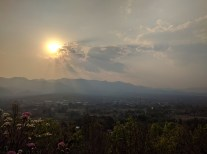 Sunset in Pai.