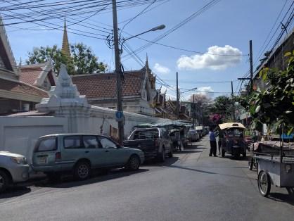 Side streets of Bangkok.