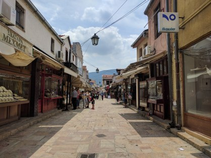 My favorite part of Skopje is definitely Old Bazaar, the hint of Turkish culture is too visible.