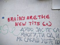 Whatever that means. Lovely Macedonian wisdom.