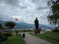 Arriving to Ohrid, the most favorite holiday spot not only for Macedonians who are landlocked from the sea.