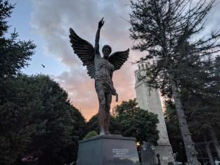 Bitola at dusk, Christian version.