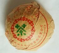 zelená Pu-Erh Tuo Cha