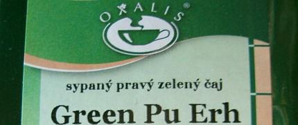 Oxalis Green Pu Erh
