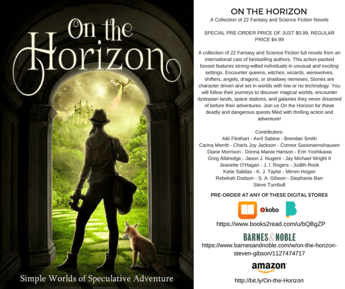 On The Horizon - preorder infocorrected