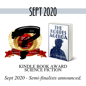image of the Kindle Book Award - semi-finalists announced Sept 2020