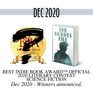 Best Indie Book Award™ Official 2020 Literary Contest BIBA logo