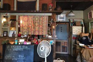 神楽坂のカフェ スキッパ