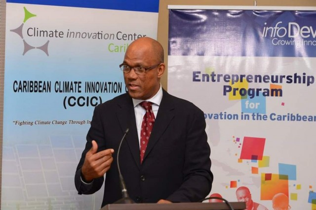 Chief Executive Officer (CEO) of the Caribbean Climate Innovation Centre (CCIC), Everton Hanson.