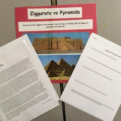 Lesson Plan: Ziggurats vs. Pyramids
