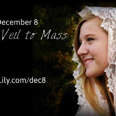 Catholic Culture: Immaculate Conception & Veiling