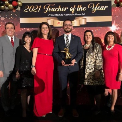 Best Year Ever! SCPS Teacher of the Year